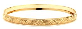 14 KT Gold Filled Bangle 65 mm, Size-5