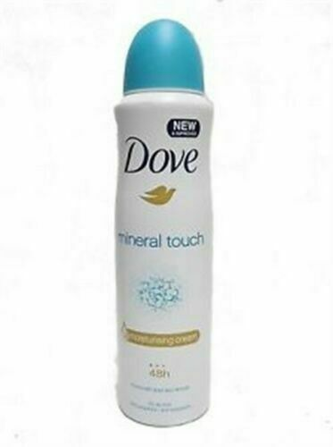 Dove Mineral Touch Anti-Perspirant Body Spray, 150 ml