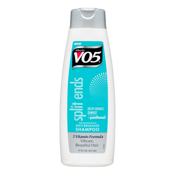 VO5 split ends anti-breakage Shampoo 5 vitamin formula 11 fl oz.