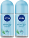 Nivea Energy Fresh Anti-Perspirant Deo Roll on, 50 ml (Pack of 2)