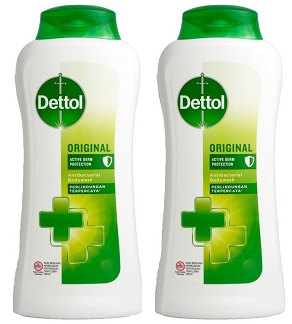 Dettol Original Antibacterial Body Wash, 300g (Pack of 2)