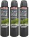 Dove Men+ Care Mierals+ Sage Anti-Perspirant Body Spray, 150 ml (Pack of 3)