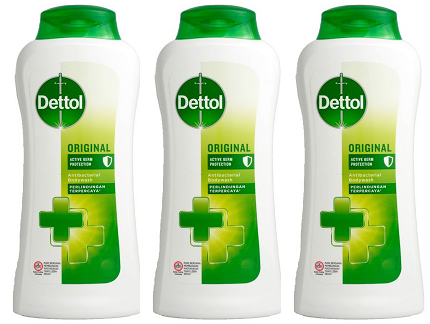 Dettol Original Active Germ Protection Antibacterial Body wash, 300 gm (Pack of 3)