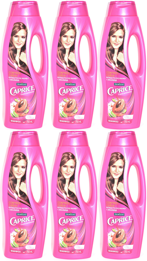 Palmolive Caprice Especialidades Shampoo 2-in-1 Control Caida 750 ml (Pack of 6)