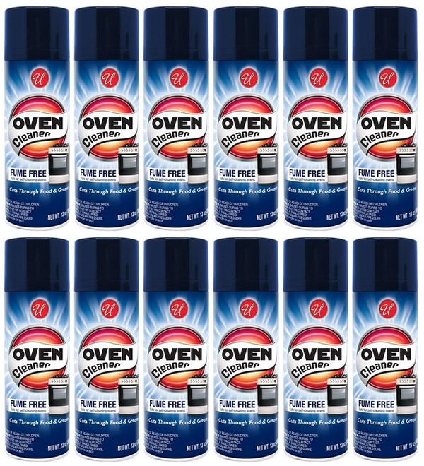 Fume Free Oven Cleaner, 13 oz. (Pack of 12)