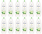 Dove Go Fresh Cucumber & Green Tea Scent Body Wash, 500ml (Pack of 12)