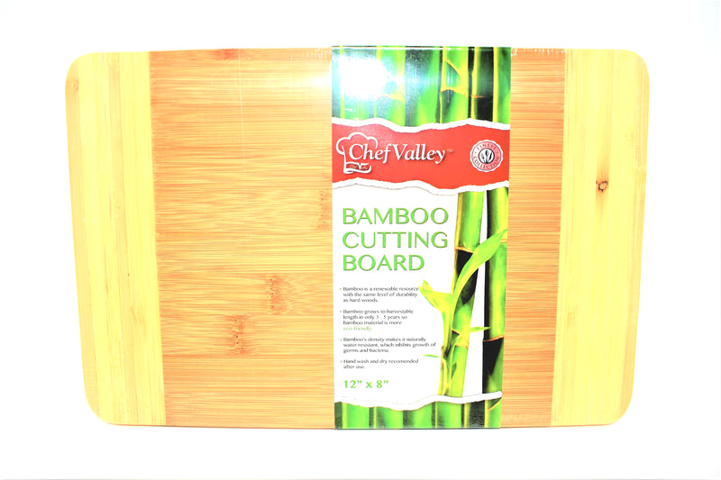 "Bamboo Cutting Board 12"" x 8"""
