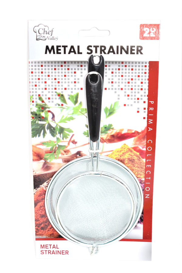 Metal Strainer Prima Collection, 2-ct.