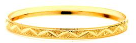14 KT Gold Filled Bangle 75 mm, Size-7