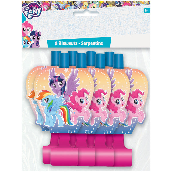 My Little Pony Blowouts, 8ct