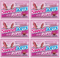 Sweetarts Cherry Ropes Candy, 3 oz (Pack of 6)