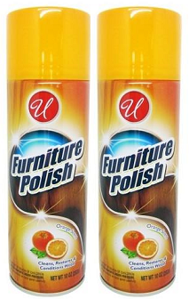 Orange Scent Furniture Polish, 10 oz. (Pack of 2)