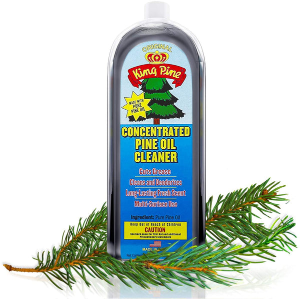 King Pine Pure Pine Oil Cleaner - Industrial Strength, 8 fl oz