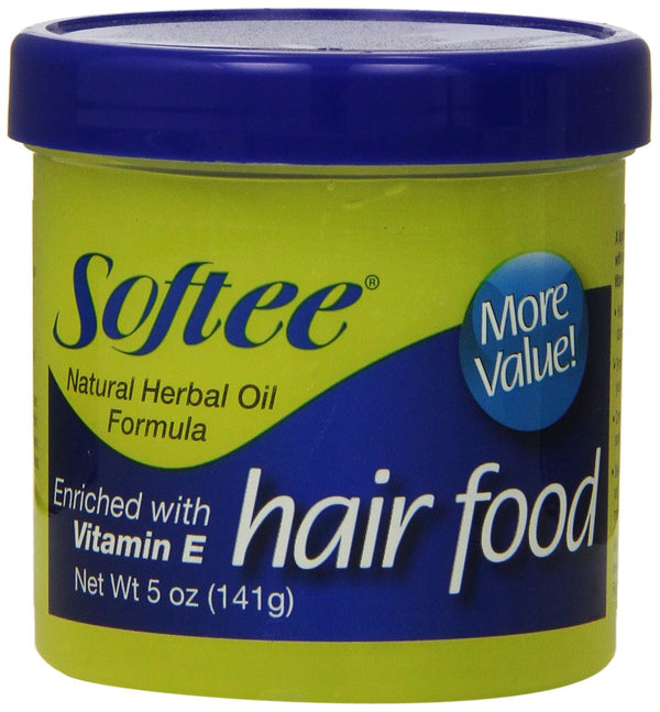 Softee Hair Food Enriched with Vitamin E, 5 oz.