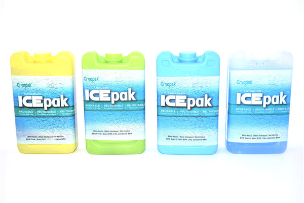 Cryopak ICEpak Hard Shell Reusable Ice Pack, Lunch Size