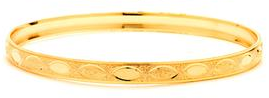 14 KT Gold Filled Bangle 80 mm, Size-8