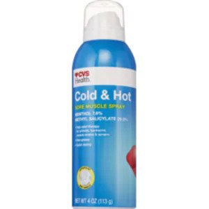 CVS Health Cold & Hot Medicated Spray 4 oz. (EXP 05/21)