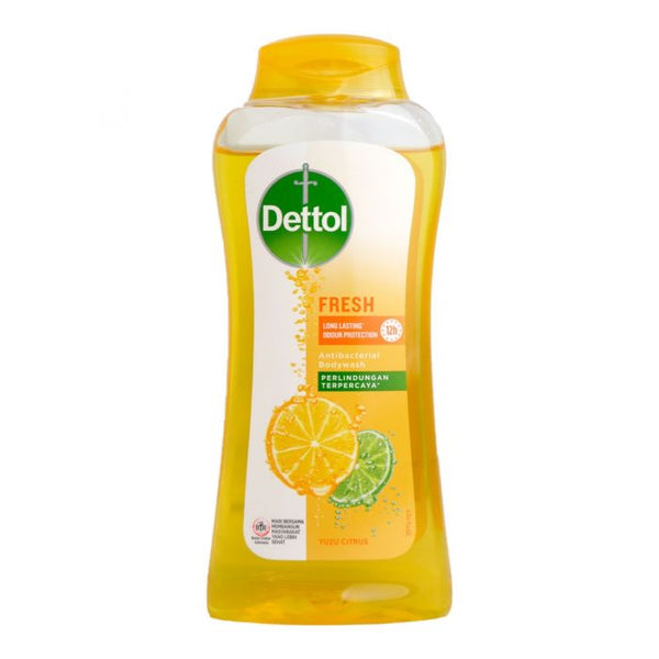 Dettol Fresh Antibacterial Body Wash Yuzu Citrus, 300g