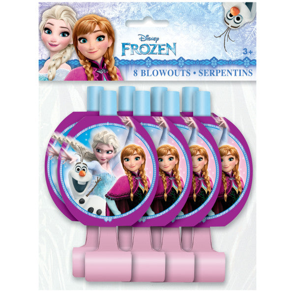 Disney Frozen Blowouts, 8ct