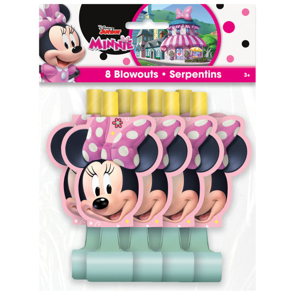 Disney Iconic Minnie Mouse Blowouts, 8ct