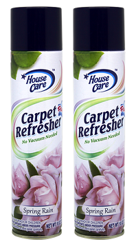 House Care Carpet Refresher Foam Spring Rain Scent, 10 oz. (Pack of 2)
