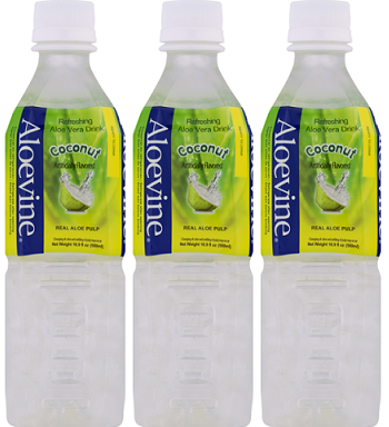 Aloevine Coconut Drink, 500 ml (Pack of 3)