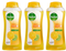 Dettol Fresh Antibacterial Body Wash Yuzu Citrus, 300g (Pack of 3)