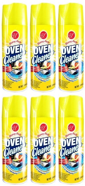 Heavy Duty Oven Cleaner, 13 oz. (Pack of 6)