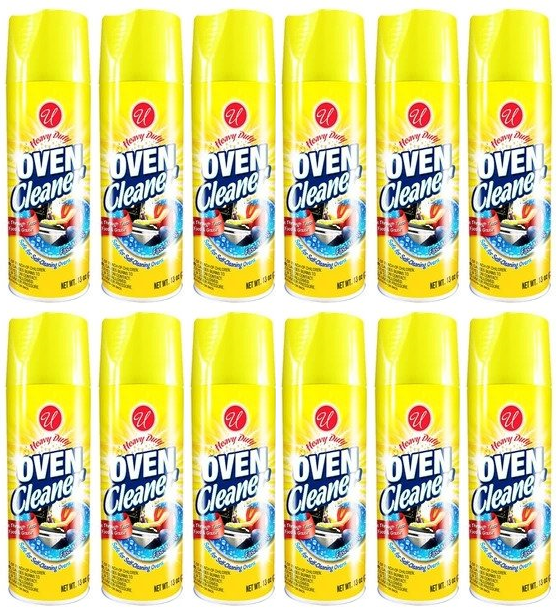 Heavy Duty Oven Cleaner, 13 oz. (Pack of 12)