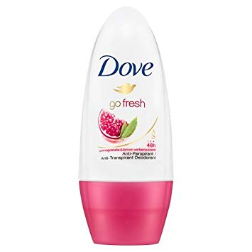 Dove Go Fresh Pomegranate Antiperspirant Roll On, 50ml