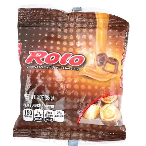 Rolo Chewy Caramels in Milk Chocolate, 3 oz