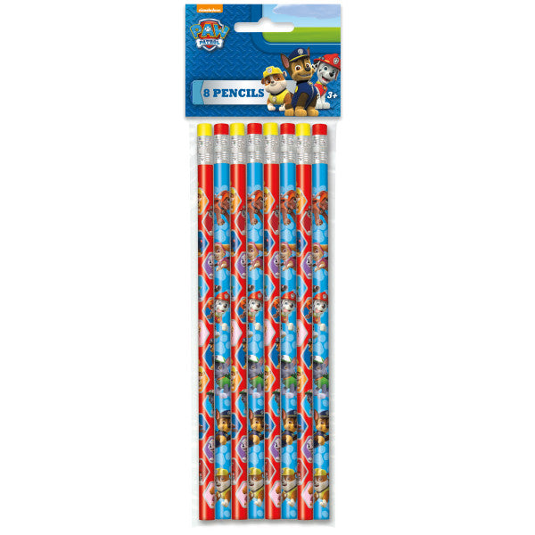 Paw Patrol Pencils, 8ct