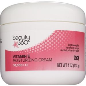 CVS Beauty 360 Vitamin E Moisturizing Cream 10,000 I.U. 4.0 oz
