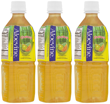 Aloevine Guava Drink, 500 ml (Pack of 3)