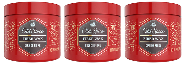 Old Spice Ricochet Fiber Wax, 75 gm (Pack of 3)