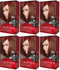 Revlon ColorSilk Beautiful Color™ Hair Color - 44 Medium Reddish Brown (Pack of 6)