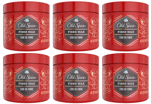 Old Spice Ricochet Fiber Wax, 75 gm (Pack of 6)