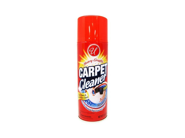 Heavy Traffic Carpet Cleaner Foam, 13 oz.