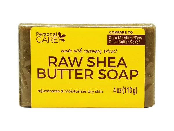 Personal Care Raw Shea Butter Soap, 4 oz