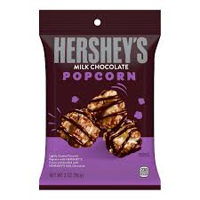 Hershey's Milk Chocolate Popcorn, 2 oz