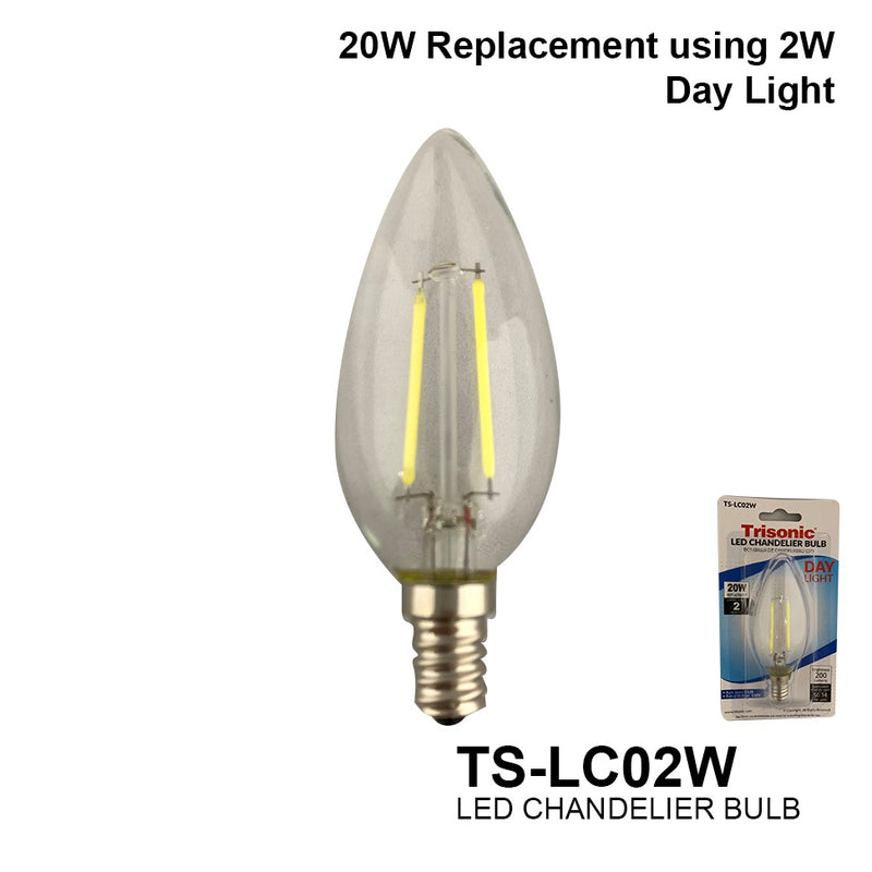 Frosted 3 Watts (25 Watt Equivalent) LED Light