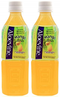 Aloevine Mango Drink, 500 ml (Pack of 2)