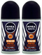 Nivea Men Stress Protect Anti-Perspirant Deo Roll on, 50 ml (Pack of 2)