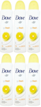 Dove Go Fresh Grapefruit & Lemon Grass Scent Anti-Perspirant Body Spray, 150 ml (Pack of 6)