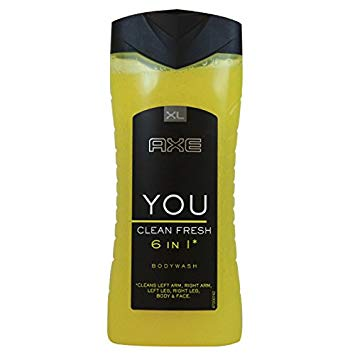 Axe You Clean Fresh 6 in 1 Body Wash, 250 ml