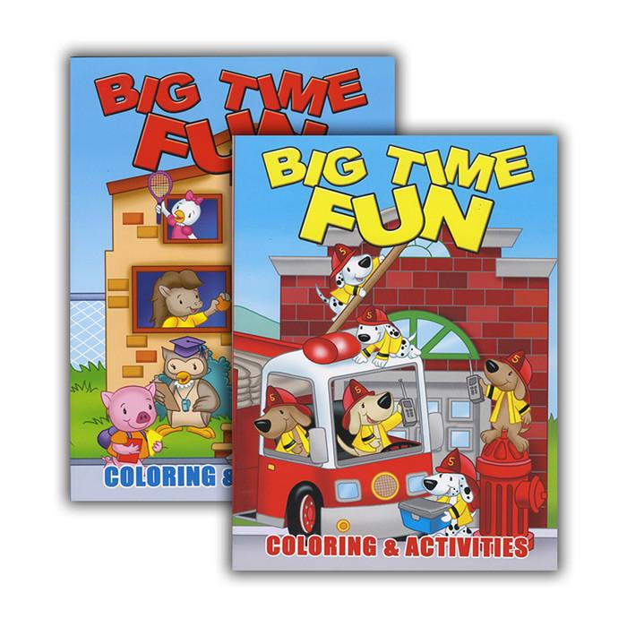 Big Time Fun Coloring & Activity Book, 1-ct