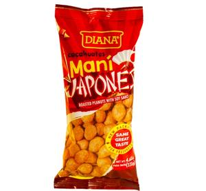 Diana Mani Japone Roasted Peanuts with Soy Sauce, 4.62oz