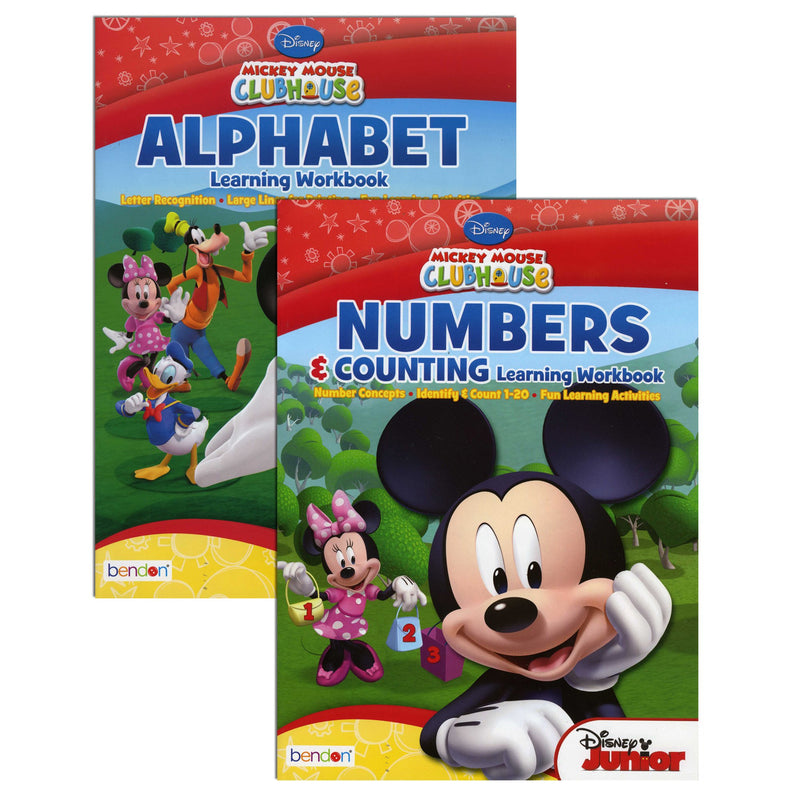 Disney Mickey Mouse Clubhouse Assorted Learning Workbook, 1-ct