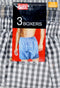 Rodex Boxers Assorted, Pack of 3