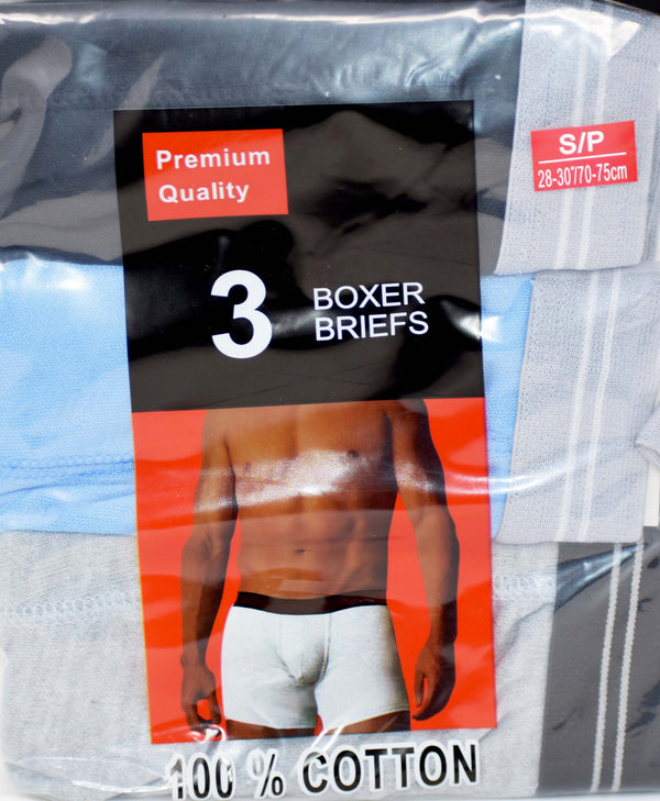 American Boxer Assorted Briefs, Pack of 3